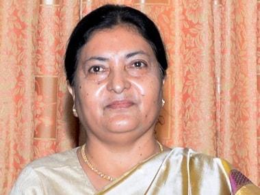 Nepalese President Bidhya Devi Bhandari. AFP / Nepal DoI