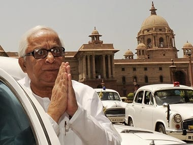 Former West Bengal Chief Minister Buddhadeb Bhattacharya. AFP