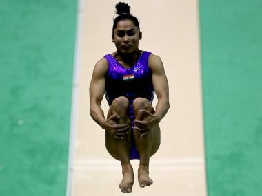 Dipa Karmakar. Getty Images