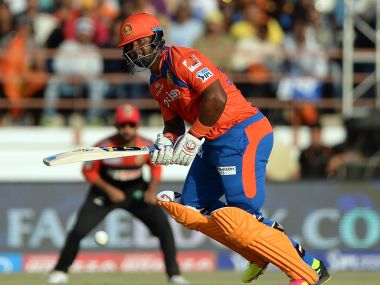 Gujarat Lions' Dwayne Smith. AFP
