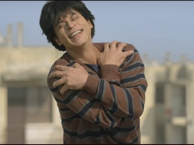 Shah Rukh Khan as Gaurav in 'Fan'. Screen grab from YouTube