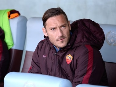 File photo of Francesco Totti. Getty