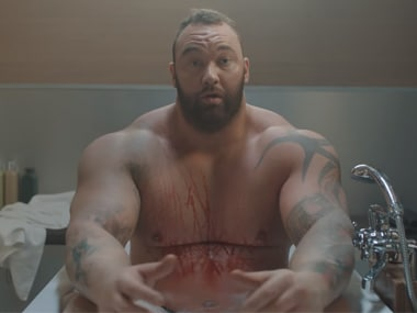 Thor in the Heavy Bubbles ad. Screen grab from YouTube
