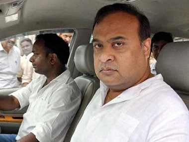 Assam finance minister Himanta Biswa Sarma. PTI