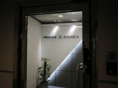 The entrance of the regional head office of Panama-based law firm Mossack Fonseca, one of the world's biggest creators of shell companies, in Hong Kong, AP