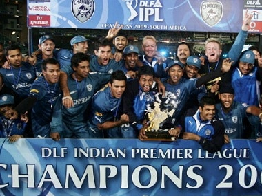 The Deccan Chargers had won the IPL in 2009 when it was held in South Africa. Getty Images