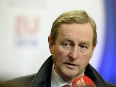 Prime Minister of Ireland Enda Kenny. AFP