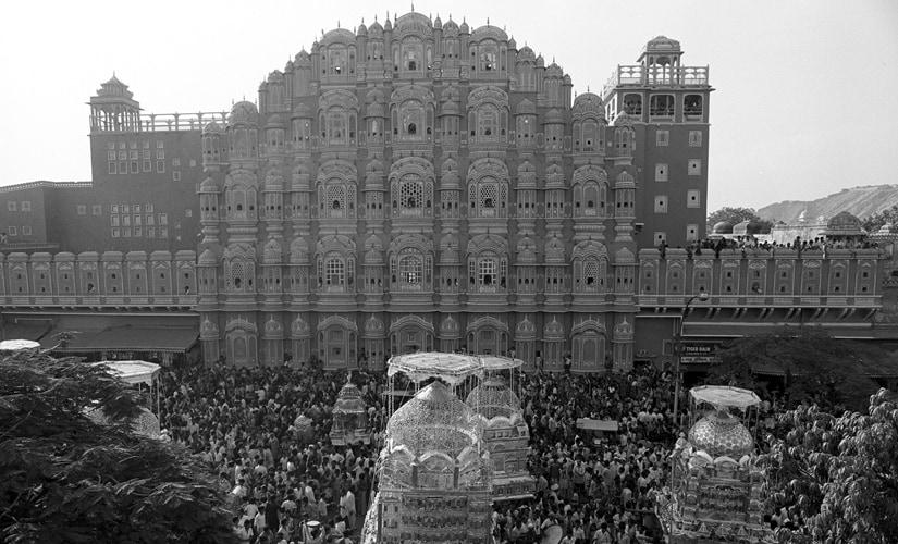 Jaipur, Muharram, 1983. Image by Sudhir Kasliwal