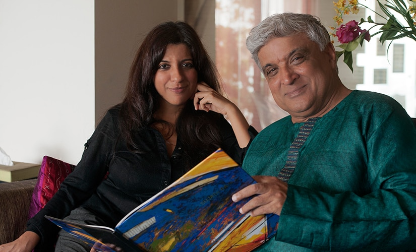 Javed and Zoya Akhtar