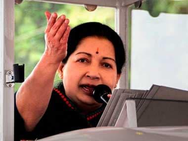 A file photo of Jayalalithaa. PTI