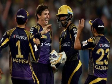 KKR had an easy outing at home to Delhi Daredevils in their IPL opener. PTI