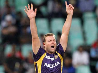 File photo of newly-appointed KKR coach Jacques Kallis. AFP