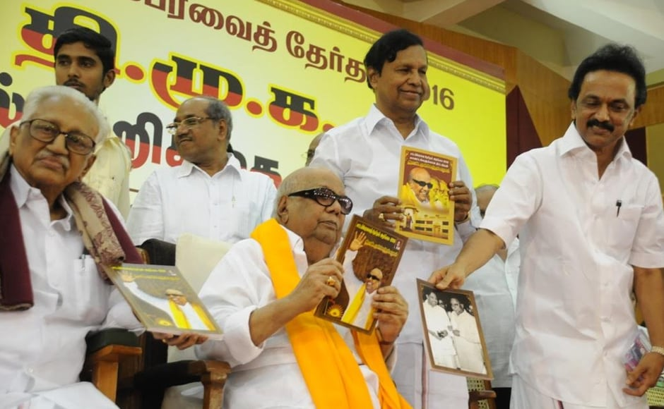 Releasing his party's poll manifesto at the DMK headquarters, he also promised setting up of industrial corridors, scheme for flood prevention and constitution of the legislative council or the upper house of the assembly. Firstpost