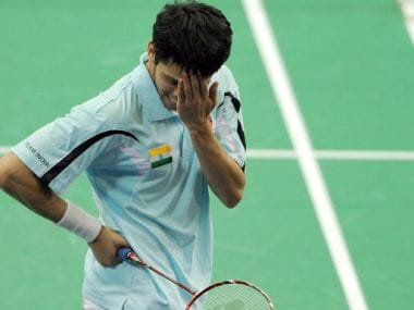 File photo of P. Kashyap. Getty Images