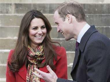 A file photo of the royal couple. AP
