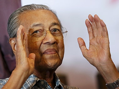 Former Malaysia prime minister Mahathir Mohamad. Reuters