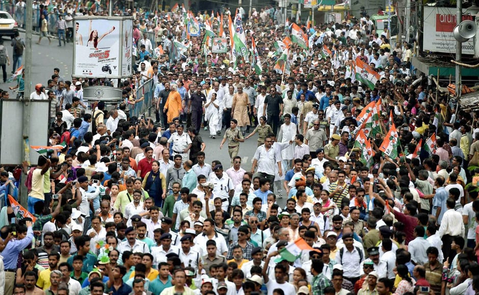 With big rallies, road shows, street corner meetings and last minute door-to-door contact with voters, canvassing reached a peak over the past couple of days, before coming to an end. PTI