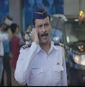 Manoj Bajpayee in 'Traffic'. Screen grab from YouTube