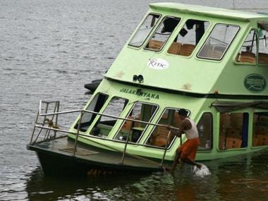 File photo of Mullaperiyar river. Reuters