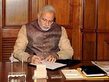 File photo of Prime Minister Narendra Modi. PTI