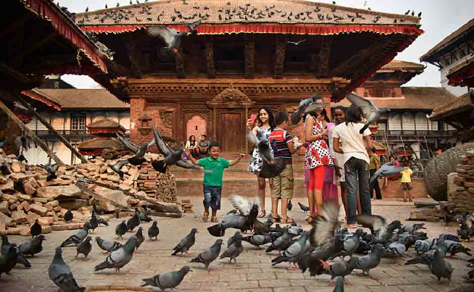 Durbar square in Kathmandu. The Tourism industry in Nepal has taken a hit after the earthquake. Image courtesy: Smita Sharma