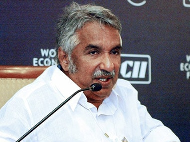 A file photo of Kerala CM Oommen Chandy. AFP