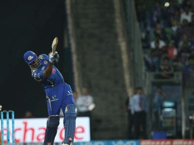 Pollard hit six sixes in his 17-ball-51 to win a tricky match for Mumbai Indians. BCCI