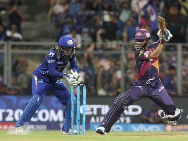 Ajinkya Rahane was back at the top and made it count. IPL