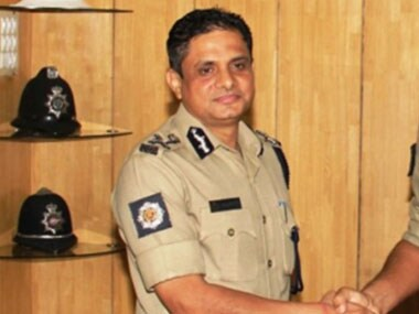 Kolkata Police Commissioner Rajeev Kumar. Image courtesy: @KolkataPolice