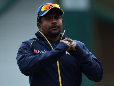Rangana Herath captained Sri Lanka in the first Test in Dinesh Chandimal's absence. AFP