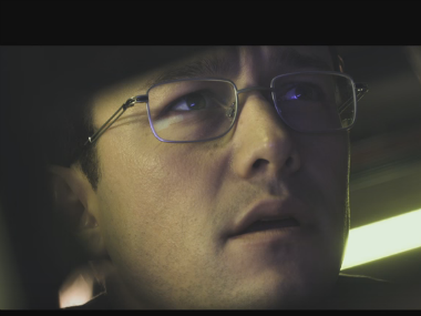 Joseph Gordon-Levitt in Snowden. Screenshot from YouTube