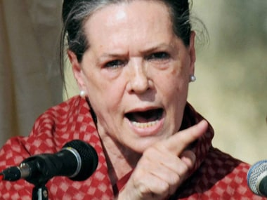 Sonia Gandhi. File photo. PTI