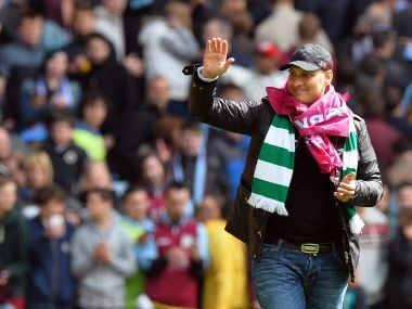 File photo of Aston Villa's Bulgarian midfielder Stiliyan Petrov. AFP