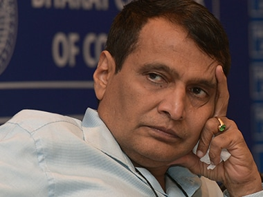 Suresh Prabhu. File photo. AFP