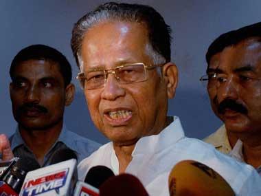 Assam Chief Minister Tarun Gogoi. PTI