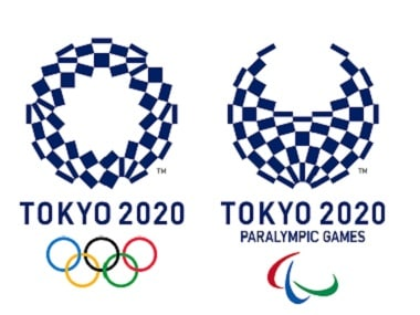 The Olympic and Paralympic Games logos were unveiled on Monday. AP