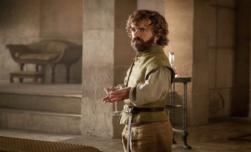 Tyrion Lannister. Game of Thrones, HBO and related service marks are the property of Home Box office, Inc. All rights reserved
