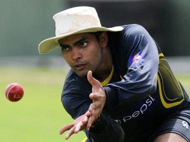 Pakistani cricketer Umar Akmal. AFP