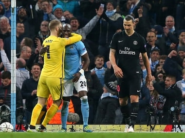 Zlatan Ibrahimovic had an off day as PSG crashed out of the Champions League quater-finals yet again. Getty