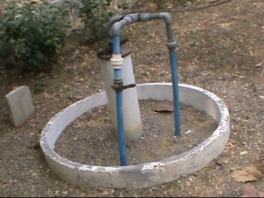 The borewell recharger developed by the agricultural university