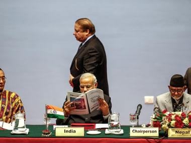 File image of Prime Ministers Narendra Modi and Nawaz Sharif. Getty Images