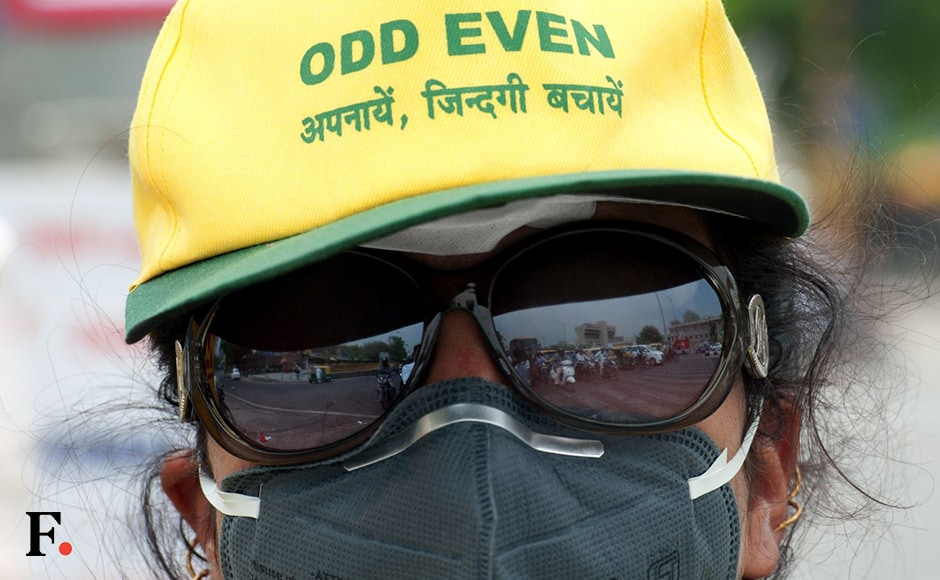 The second phase of the odd-even formula, a car rationing scheme aimed at checking pollution levels in Delhi, rolled into forceon Friday. The scheme will be applicable from 15 to 30 April. Firstpost/Naresh Sharma