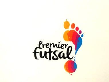 Premier Futsal logo. Firstpost