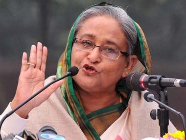 A file photo of Sheikh Hasina. PTI