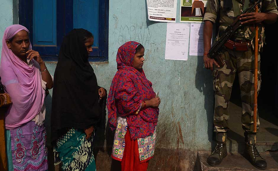 "<span style=""font-size: 16px; line-height: 1.5;"">West Bengal recorded a high voter turnout on Thursday in the phase three of Assembly election. Polling in the fourth, fifth and sixth phases will be held on 25 and 30 April and 5 May. AFP</span>"