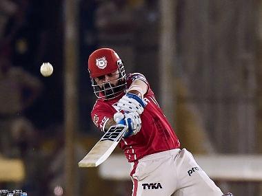 Kings XI Punjab's captain Murali Vijay. AFP
