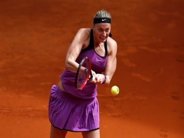Petra Kvitova gets the French Open underway. Reuters