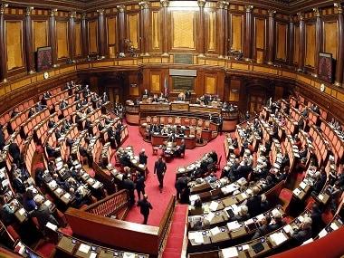 Italian Senate. File photo. Reuters