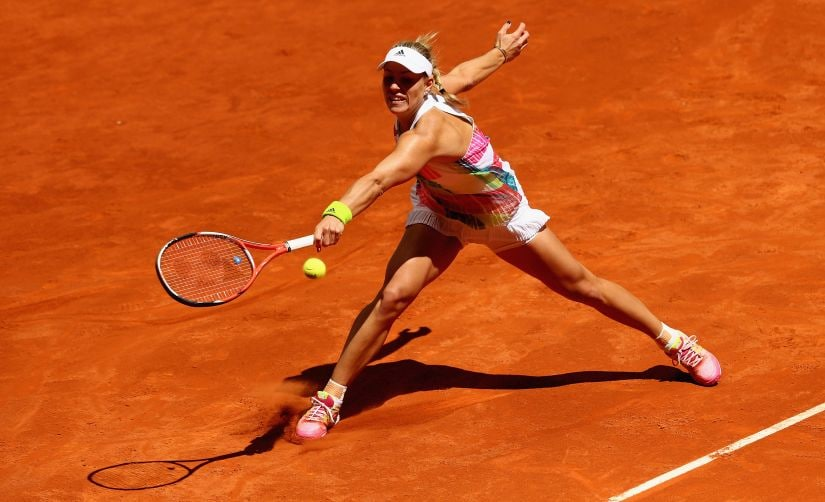 Reigning Australian Open champion Angelique Kerber will be gunning for her second slam. Getty Images