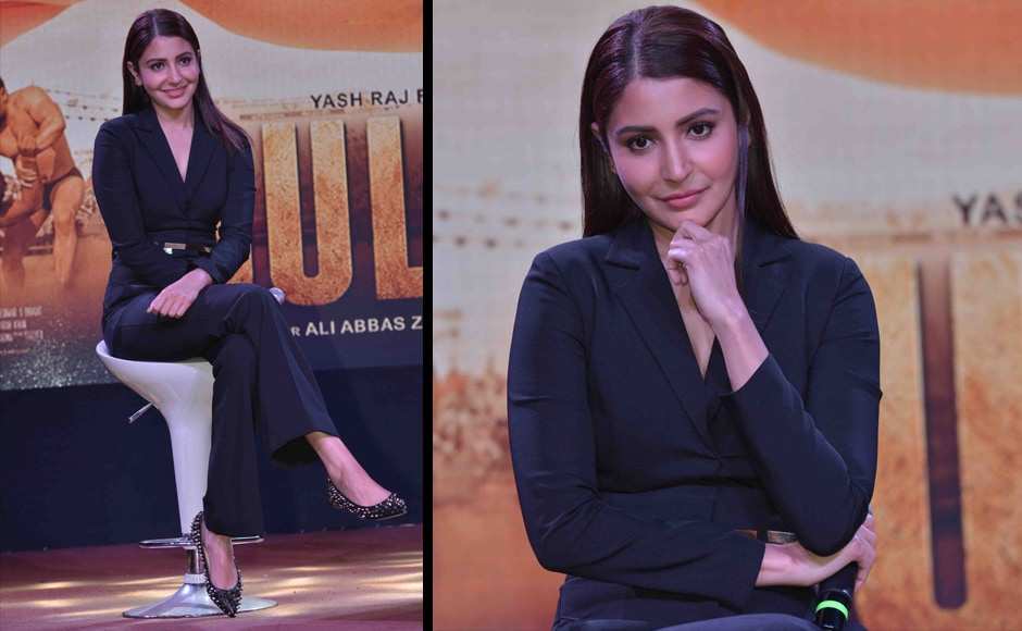 Anushka stepped in after several other actresses were found to be not the right fit, by director Ali Abbaz Zafar and producer Aditya Chopra. She trained hard in the limited time she had, and Anushka's performance, as seen in the trailer, is already winning her lots of appreciation. Image by Sachin Gokhale/Firstpost